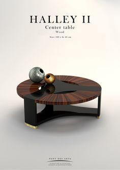 Halley center table - Pont des Arts - Designer Monzer Hammoud - Paris