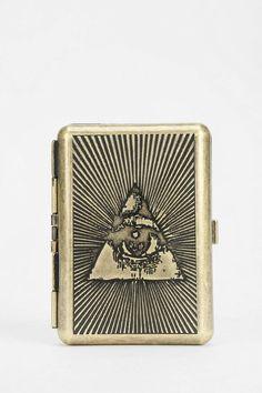 Medusa Tarot Metal Card Case Wallet - Urban Outfitters