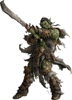 Illustration by Jason Engle PZO1130-OrcWarlord.jpg (immagine JPEG, 714 × 1000 pixel)