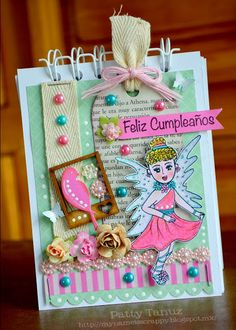 NOTEBOOK: FELIZ CUMPLEAÑOS HAPPY BIRTHDAY TANUCITA :)