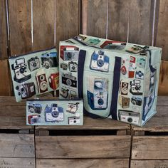 Christine Berrie Bags 3 Pack  by Blue Q I just bought the big one of these and adore it. I wanted to buy her print in London at magma books but couldn't afford it.