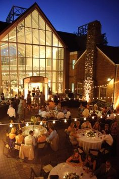 Reception Love The String Of Lights Wedding Places Locations Nashville Venues