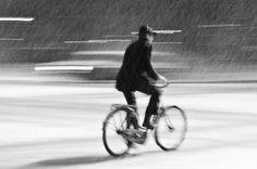 Iarna pe bicicletă în Bucureşti. A love story.
