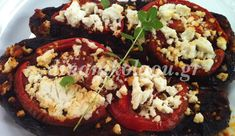 Yams, Greek Recipes, Baked Potato, Veggies, Potatoes, Baking, Ethnic Recipes, Food, Kitchens