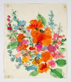 Art World Drinks: A Vera Neumann-Inspired Flower Fizz   In the Air   BLOUIN ARTINFO Blogs