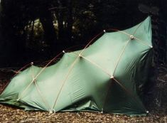Early Dome and Tent Structure Designs by Shelter Systems