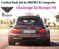 Challenge Z3 Mcoupe V8 Carbon Fiber parts made by BREBECK Composite.com www.brebeckcompos... #carbonfiber #challengez3 #composites