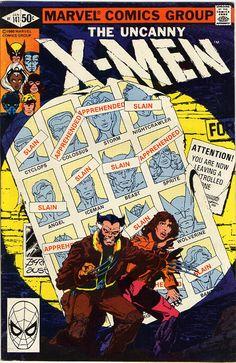 Cover X-Men #141 by John Byrne