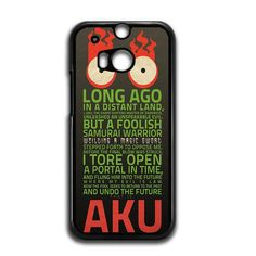 now available Samurai Jack Aku ... on our store check it out here! http://www.comerch.com/products/samurai-jack-aku-quotes-htc-one-m8-case-yum6768?utm_campaign=social_autopilot&utm_source=pin&utm_medium=pin