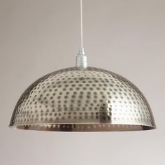 Need to Spruce Up Your Space for Fall? Check out our Hammered Metal Pendant Lamp from Cost Plus World Market's Desert Caravan Collection. >> #WorldMarket Home Decor Ideas, Fall, #SpruceUpYourSpace