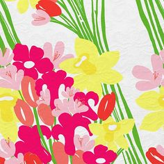 """Lilly Pulitzer """"Lavish Lillys"""" print. Picture Yourself in Paradise at www.floridanest.com"""
