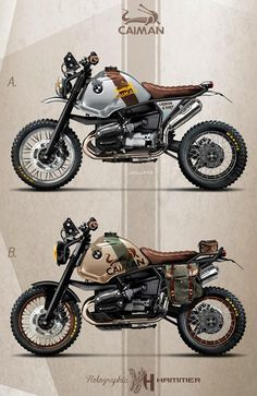 BMW R1100 GS by Holographic Hammer