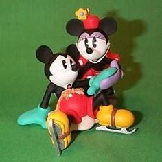 1997 Disney - New Pair Skates Hallmark Ornament   The Ornament Shop
