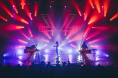 CHVRCHES - 3 sold out nights at Terminal 5 in NYC Stage Lighting Design, My Design, Nyc, Marketing, Night, Digital, Concert, Music, Lights
