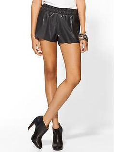 Lucca Couture Vegan Leather Shorts | Piperlime - $89