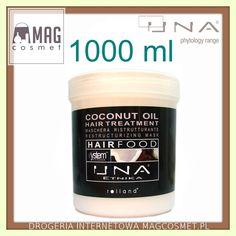 Una Coconut Oil Hair Treatments Maska Kokosowa 1000ml - Drogeria Internetowa - Magcosmet