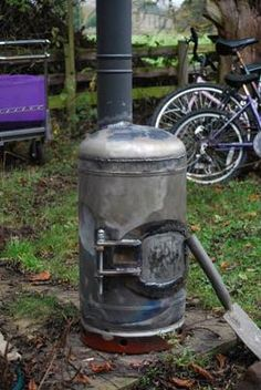 'Found your site from the forums, very nice it is too! I made my own woodstove from a gas cylinder and wondered if you'd thought of including a set of