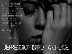 My enemy...Depression