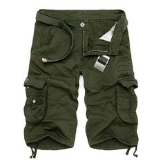 Camouflage Shorts, Military Camouflage, Camo Shorts, Casual Shorts, Men Shorts, Military Army, Camouflage Clothing, Cotton Shorts, Military Style