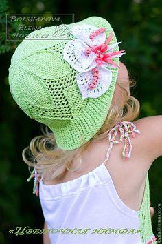 Летние шляпы крючком