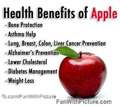 apple health benefits