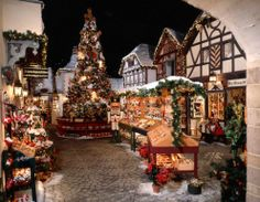 christmas village!