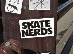 Skate Nerds Sticker