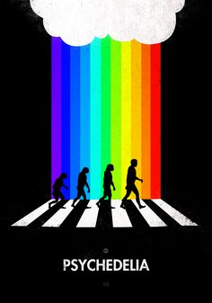Psychedelia on Abbey Road Abbey Road, 99 Steps, Satirical Illustrations, Famous Photos, Mc Escher, The Way I Feel, Environmental Art, Psychedelic Art, New Image