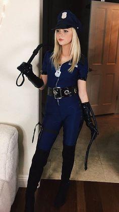 #jordynjones #whip #uniform #boots #blonde #pretty