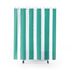 teal striped shower curtain. Turquoise Shower Curtain  Striped Modern Purple