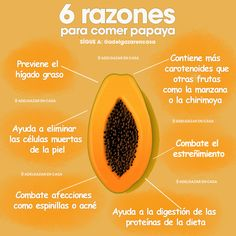 These are the best reasons to include papaya in your diet - georgina Healthy Fats Foods, Healthy Diet Tips, How To Stay Healthy, Papaya Benefits, Fruit Benefits, Holistic Nutrition, Health And Wellness, Benefits Of Potatoes, Nutrition Chart