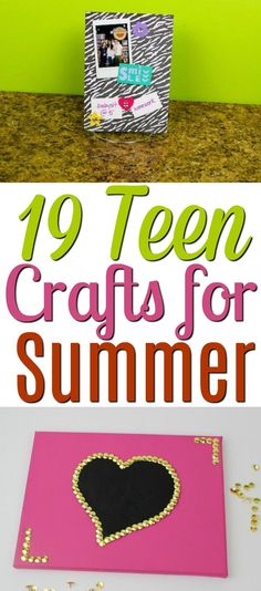 Have you been looking for some Teen Crafts for Summer? These are some fantastic DIYs that any teens can do over the summer. I've shared 19 Teen Crafts for Summer- You'll have so much fun re-creating these andRead Christmas Gifts For Teenagers, Gifts For Teens, Diy For Teens, Diy Projects For Teens, Crafts For Kids, Craft Projects, Teen Crafts, School Projects, Teen Summer Crafts