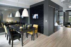 Otwarta jadalnia w stylu vintage - Architektura, wnętrza, technologia, design - HomeSquare