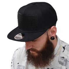 ad65e145a02 Fancy snapback cap raised soft silicon square pyramid flat brim casquette baseball  cap youth hip hop hat for boys and girls. Style snapbacks