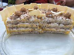 Čarobna torta bijeli Egipat - Kuhinja i Recepti Torte Recepti, Kolaci I Torte, Sweet Recipes, Cake Recipes, Dessert Recipes, Desserts, Posne Torte, Serbian Recipes, Torte Cake
