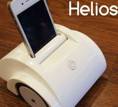 The Helios iOS Device Turns Your Cellular Device into a Robot #phonestands trendhunter.com