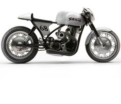Nortorious is one of those highly unusual custom café racers that only comes along once in a blue moon. Although it looks fairly straight forward it's actually a turbo-charged engineering tour de force featuring more custom engine components than any bike we've ever posted on Silodrome.