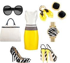 Sunny Office Outfit, created by sonia-roxy-m on Polyvore