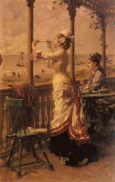 Frederick Hendrik Kaemmerer - 1839/1902 - Pintor Holandês.