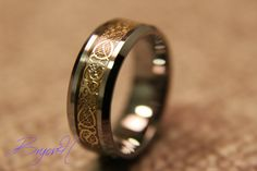 Matching size Tungsten wedding bands Wedding Ring by BryonHshop