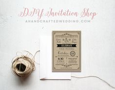 Products Archive - A Handcrafted Wedding