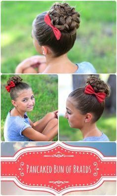 Bun of Braids | Cute Girls Hairstyles