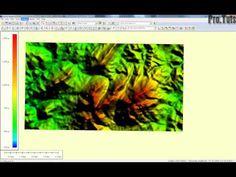 Como generar curvas de nivel usando Google Earth, Global Mapper y AutoCAD - YouTube