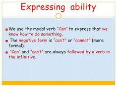 Resultado de imagen de can ability permission