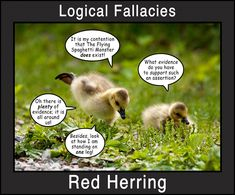 Red Herring-random pictures causing students to fit a logical fallacies--great (and hopefully funny plan)