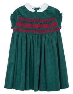 Vestido verde botella | Ropa de niña | Moda infantil | Gocco.es - Tienda oficial Gocco