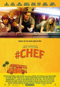 """Película """"Chef"""", 2014. Empezar de cero nunca supo tan bien."""