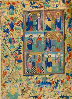 Book of Hours  Maker(s) & Production: , production, Flanders, Bruges  Collection: Fitzwilliam, Richard, 7th Viscount  Category: illuminated manuscript  Name(s): book of hours; type of text use of Sarum; liturgical use  Date: circa 1460 — circa 1470  Period: fifteenth-century, third quarter