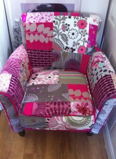 My Pink Patchwork chair ;)