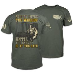 Warrior shirts feature warrior-inspired designs for patriotic Americans. Come see the Warrior 12 difference. Patriotic Outfit, Patriotic Shirts, Thin Blue Line Flag, Thin Blue Lines, Cool Shirts, Tee Shirts, Awesome Shirts, Tactical Cargo Pants, Warriors Shirt
